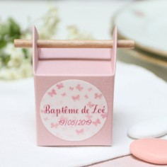 "La pop up vieux rose ""papillons"""