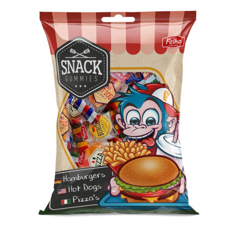 Les mini jelly fast food (sachet de 12)